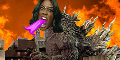 A Black, Racist Monster and Her Digitized Diarrhea