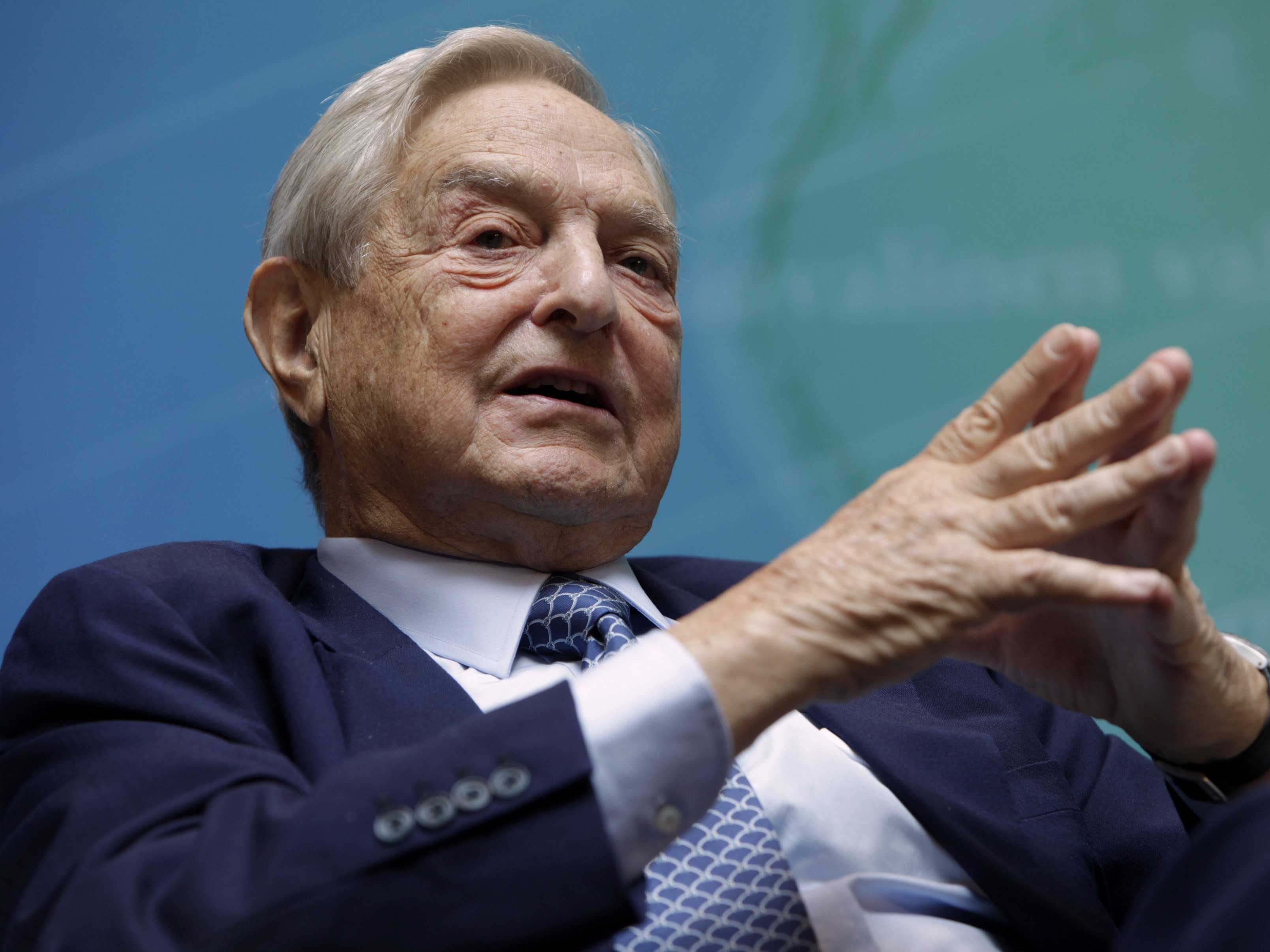 Prosecute Soros for Sedition