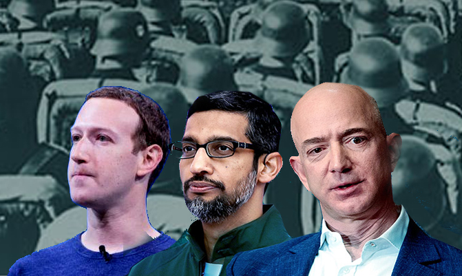 Tech Giants' Realm: Our Future Dystopia in Microcosm